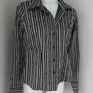 New York & Co. Pretty Striped Top